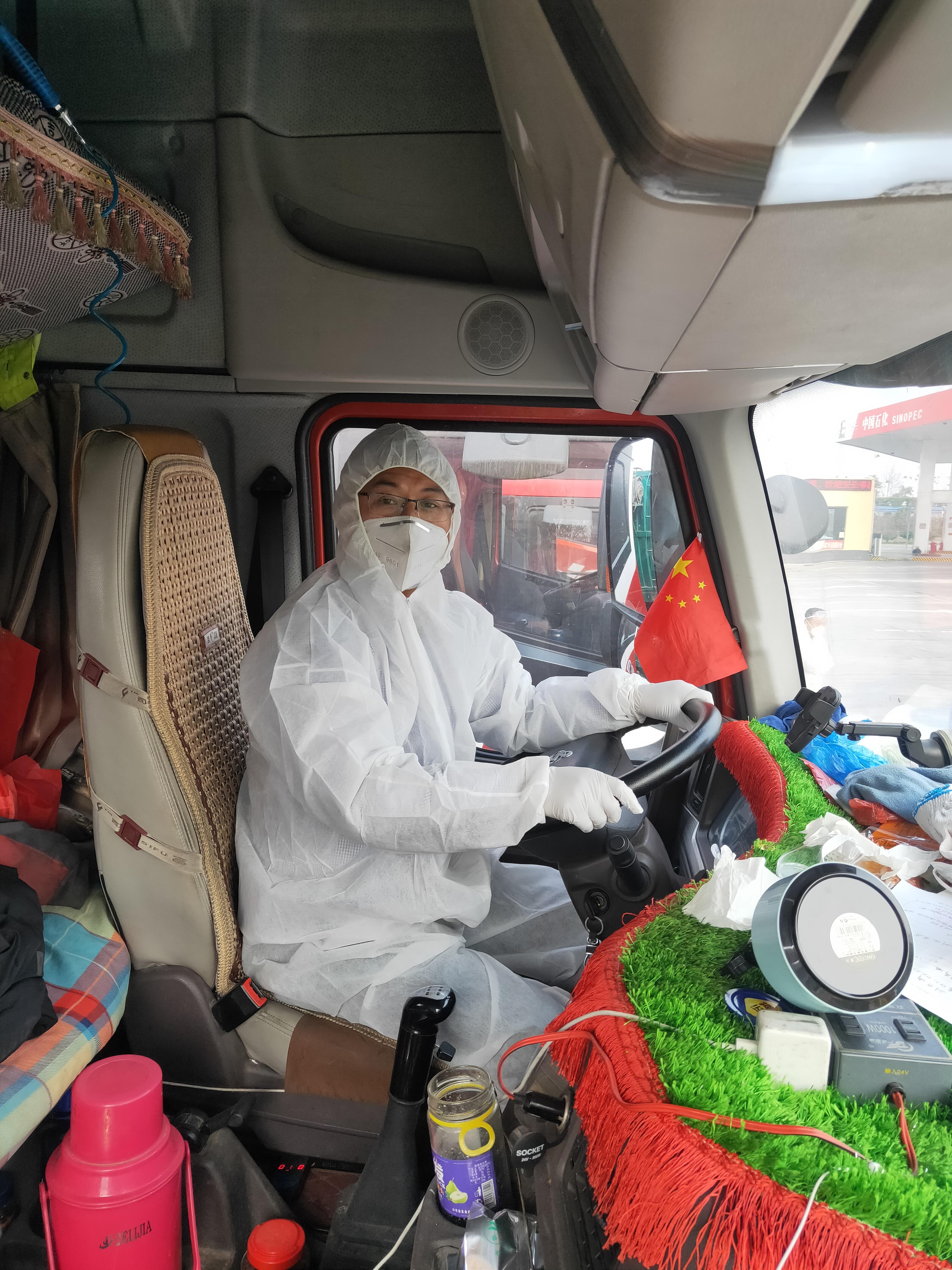 """运送应急抗疫物资的司机:找到了人生意义,但不想当""""异类"""""""