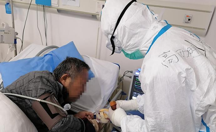战重症|患者抵触治疗,援鄂男护士长学说武汉话让他打开心房
