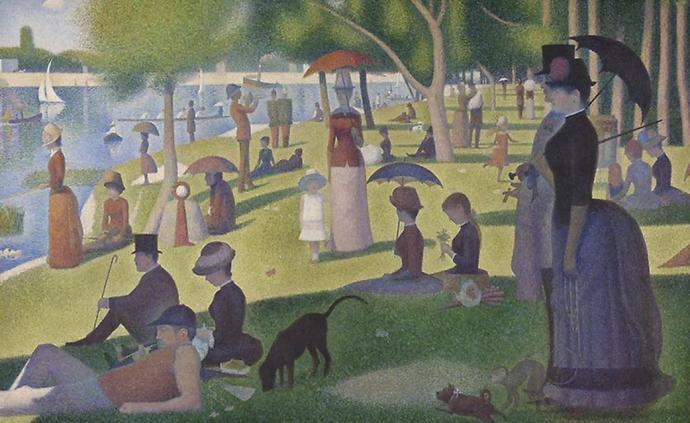 """《大碗島的星期天下午》:喬治·修拉名作的""""表面之下"""""""