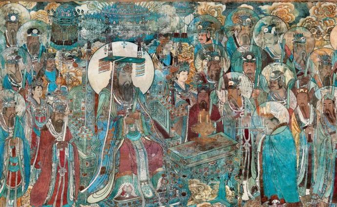 歷經七百多年,永樂宮壁畫何以既鮮艷悅目又和諧統一?
