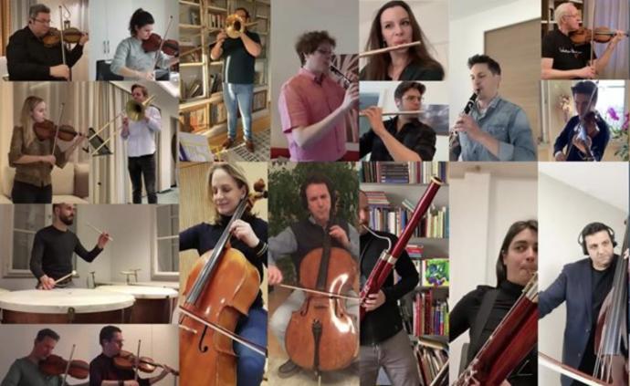 維也納愛樂云合奏《魔笛》:隔離不會驅散我們對音樂的熱情
