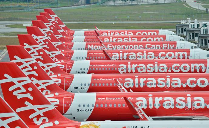 國際疫情|亞航宣布暫停大部分航班