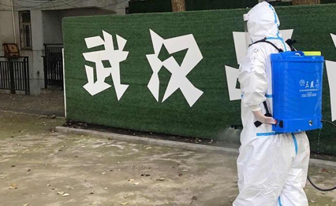 滯留湖北的上海消防隊員:進病家消毒、為康友服務