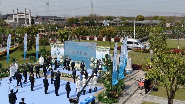 特殊的清明,沪上墓园云业务激增
