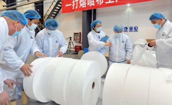 中國石化年產500噸熔噴布生產線投產,國產化率超95%