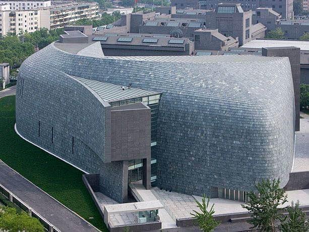 |普利兹克建筑奖获得者矶崎新在中国的代表作品:中央美术学院美术馆