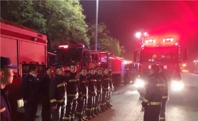 山火還未撲滅,西昌警方:馬道液化氣站5公里內市民請撤離