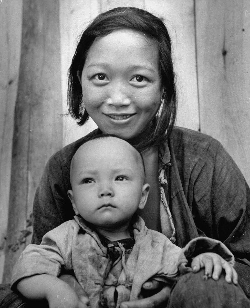 二战时,Carl Mydans拍摄的中国,图来自理想国出版