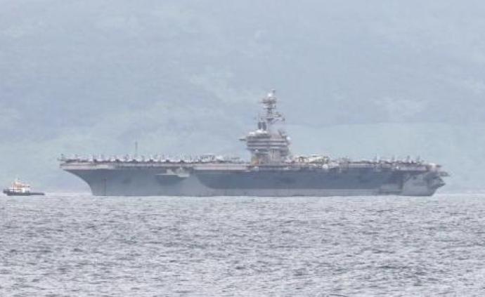 美罗斯福航母超百人感染停泊关岛,舰长请求全员下船检测隔离