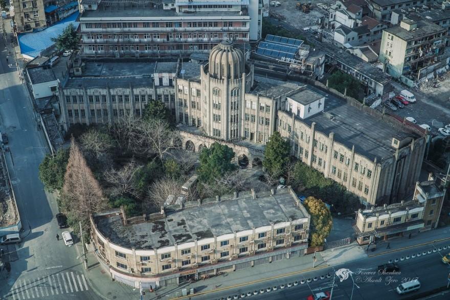 俯瞰雷士德工学院大楼。 图片来自网络