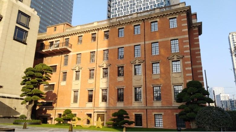 公济医院仅存的老建筑。 作者 摄