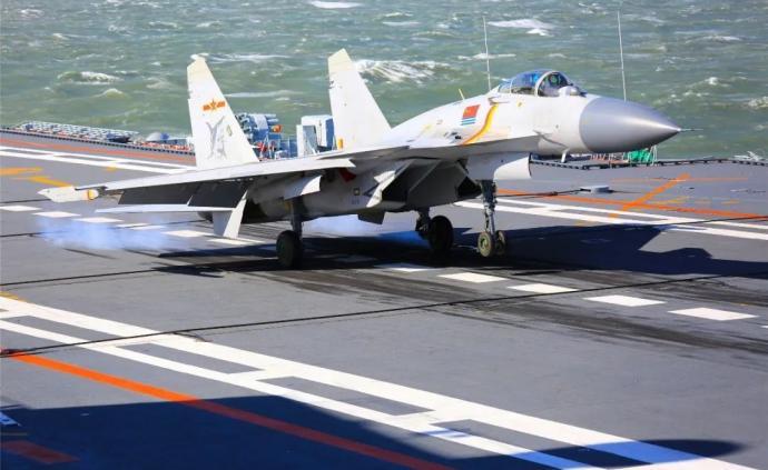 讲武谈兵 中国航母舰载机事业新突破:飞行员培养体系在转变