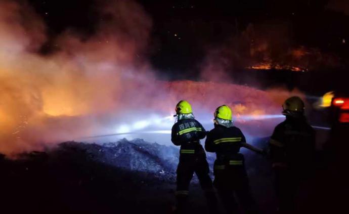 四川西昌森林火灾:已造成19名地方扑火人员遇难