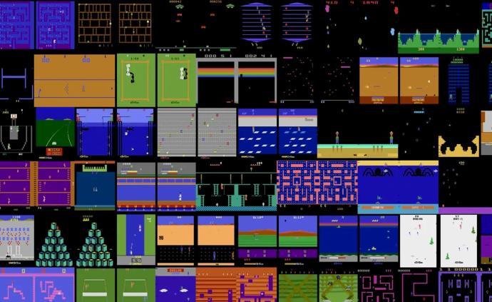DeepMind首次在所有57款雅達利游戲上超越人類玩家