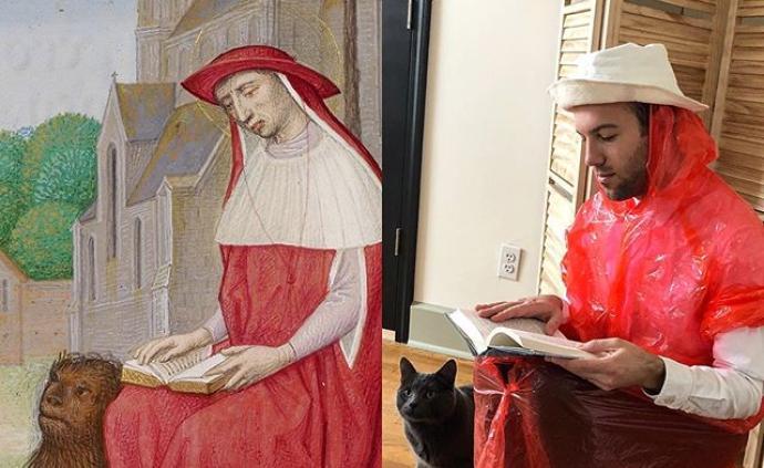 """触手可及的物品,""""花式演绎""""盖蒂博物馆名画"""