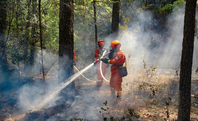 鏖戰68小時,四川西昌森林火災明火被撲滅