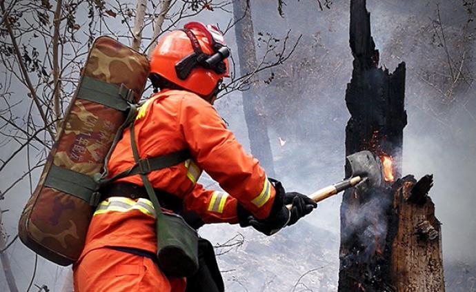 林中路|林中險況:西昌大隊胡顯祿講述一年前木里森林火災