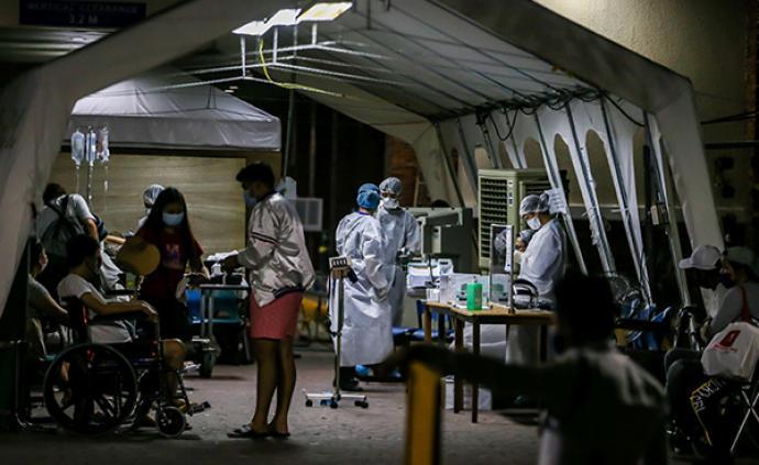 菲律賓新增322例新冠肺炎確診病例,累計2633例