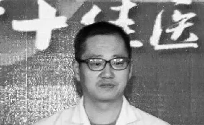 江蘇追授朱崢嶸記大功獎勵:帶病抗疫殉職,年僅48歲
