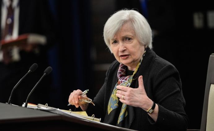 美联储前主席耶伦:美国二季度经济产出按年率算或下滑20%