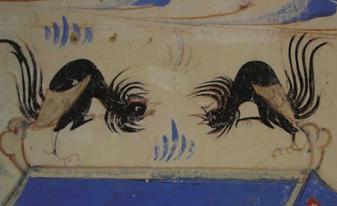 看古代敦煌的清明民俗活動:踏青、方風箏、斗雞、蹴鞠等