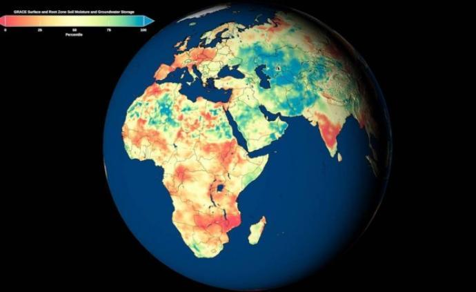 NASA發布首個全球地下水地圖,幫助發現干旱問題