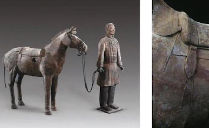 """考古文獻與古代藝術里的""""軟馬鞍"""""""