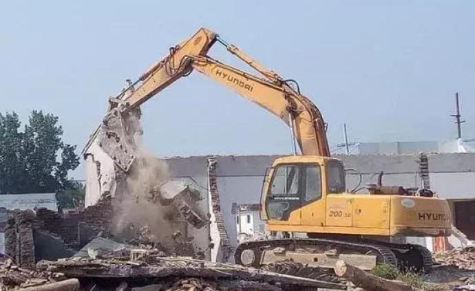 北京:对违法建设,街道办事处有行政处罚和强制拆除权