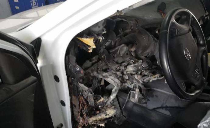 現代汽車深夜自燃,4S店:可維修,因疫情無法提供檢測報告