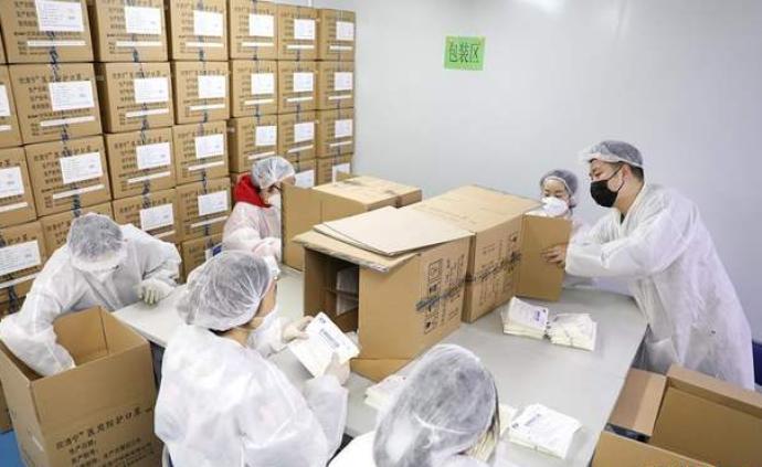 """商務部:嚴控出口醫療物資質量,維護""""中國制造""""形象"""