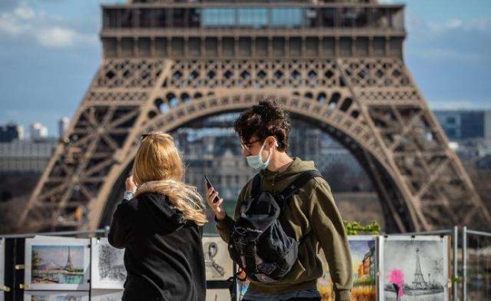 法國新增逾7800例確診病例,累計90853例