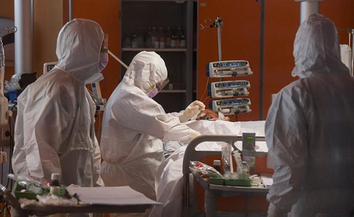 全球疫情晚報|國外確診病例日增逾8萬,美國占四成