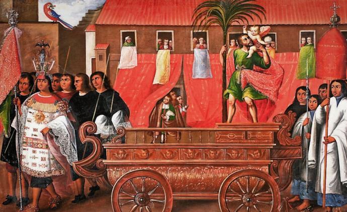 蛰伏三百年:西班牙治下的印加