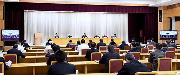 4月7日,上海召开公共卫生建设千人视频大会。