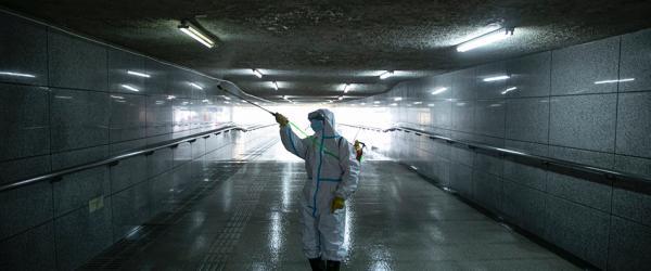 武汉重启|武昌对18个地下通道进行全面消杀