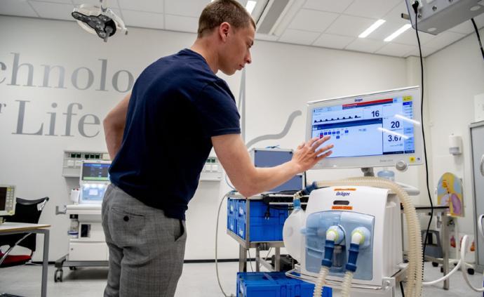 英國呼吸機缺口至少八千臺正緊急采購,德國軍方將捐贈60臺