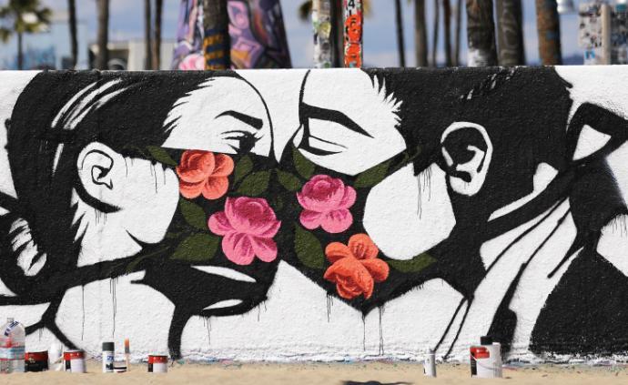 美国街头艺术家回应疫情:焦虑与恐慌,呼吁与思考
