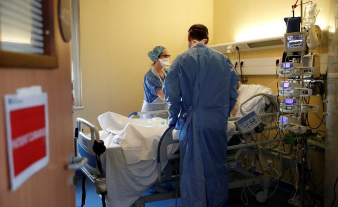 法国新增新冠肺炎死亡病例1417例,单日新增死亡数创新高