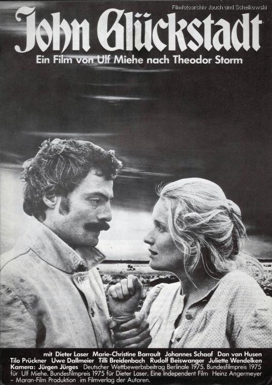拉瑟初登大银幕,就凭电影《约翰·格鲁克施塔特》拿下以前德国电影奖最佳男主角奖