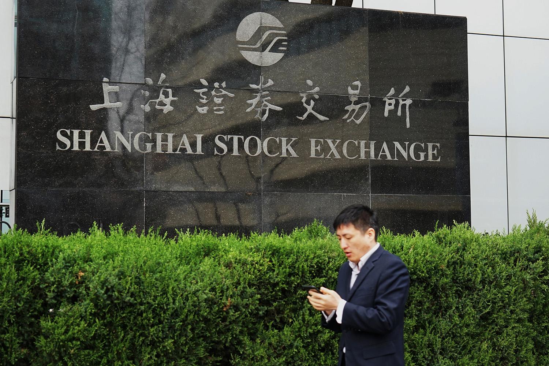上海证券交易所。 视觉中国 资料图