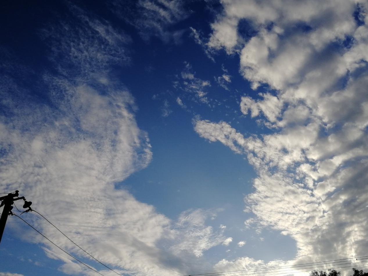 故乡的云。