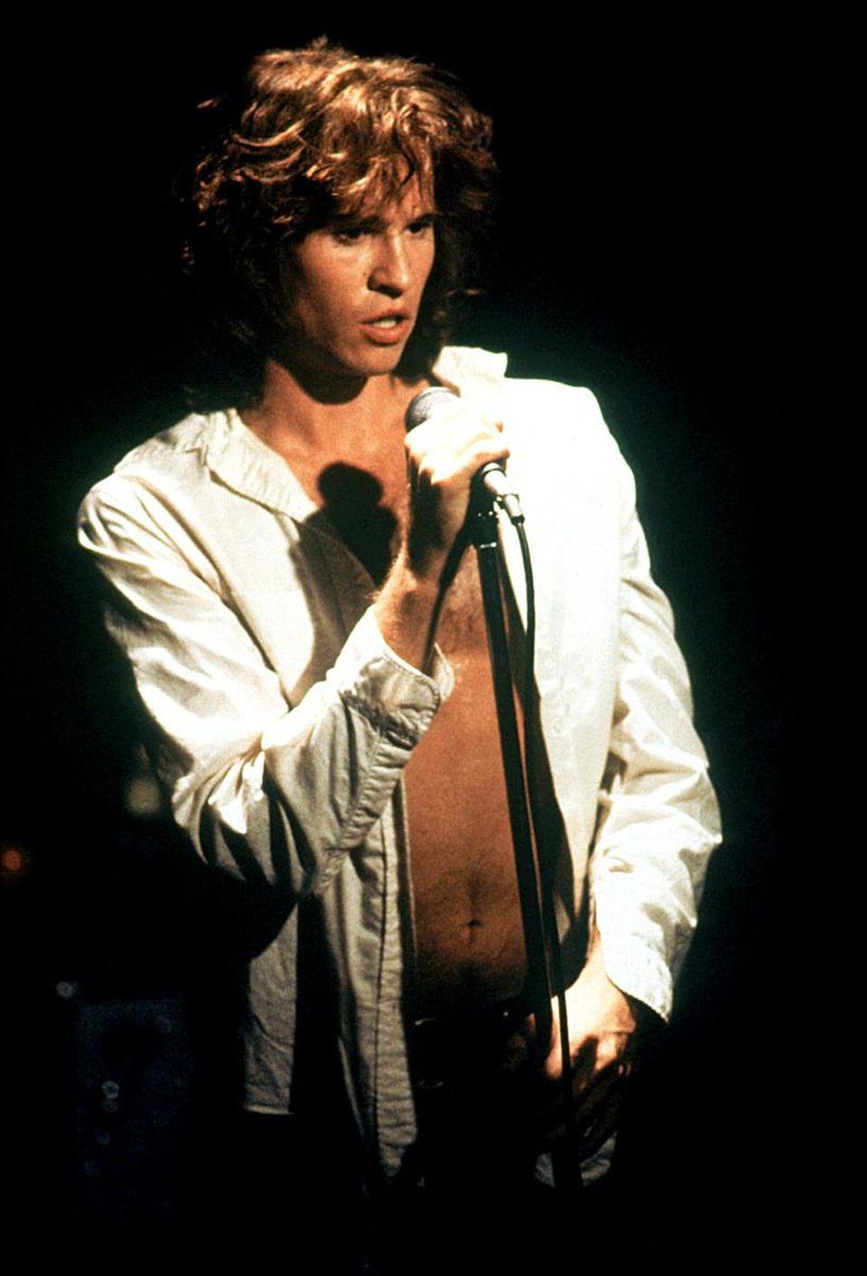 方·基默在《大门》里饰演传奇摇滚音乐人吉姆·莫里森。