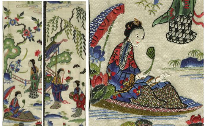 展覽|從柳如是的白端硯與明清繡品,看古代女子的才情與審美