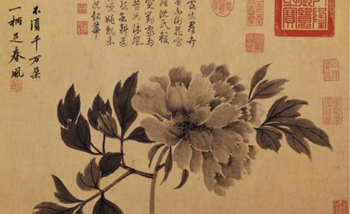 常往蘇州寺院的沈周,留下哪些寄情牡丹的詩與畫?