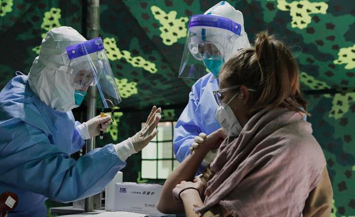開學記|上海開學在即,部分外籍教師接受核酸檢測