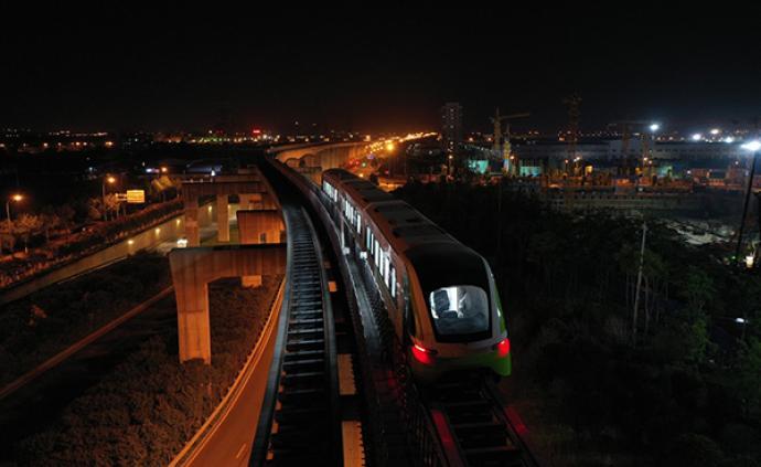 中國首列商用磁浮2.0版列車成功完成達速測試