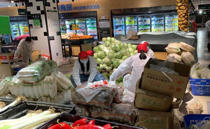 """志愿者抗疫記 從意大利回武漢,她成了社區""""食物獵人"""""""