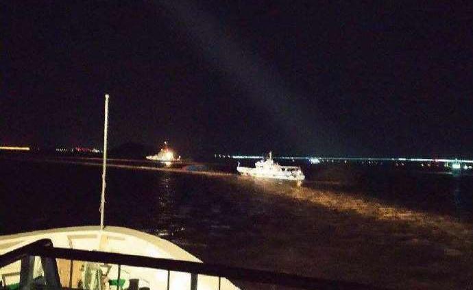 一艘貨船和漁船在浙江舟山海域碰撞,4人獲救、2人失蹤