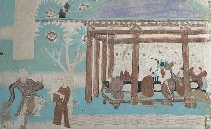 鑒賞|敦煌藝術里那些勤勉勞作的農夫、工匠與商人們