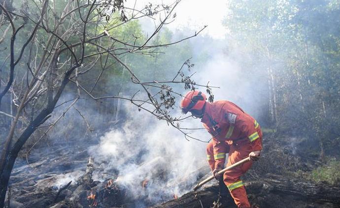內蒙古大興安嶺林區發生兩起森林火災